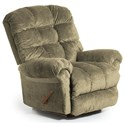 Best Home Furnishings Recliners - BodyRest Denton BodyRest Rocker Recliner - Item Number: -1207714424-24537
