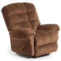 Best Home Furnishings Recliners - BodyRest Denton BodyRest Rocker Recliner - Item Number: -1207714424-31688
