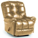 Best Home Furnishings Recliners - BodyRest Denton BodyRest Rocker Recliner - Item Number: -1207714424-41365L