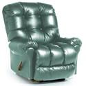 Best Home Furnishings Recliners - BodyRest Denton BodyRest Rocker Recliner - Item Number: -1207714424-44252BL