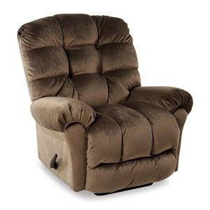 Best Home Furnishings Recliners - BodyRest Rocker Recliner