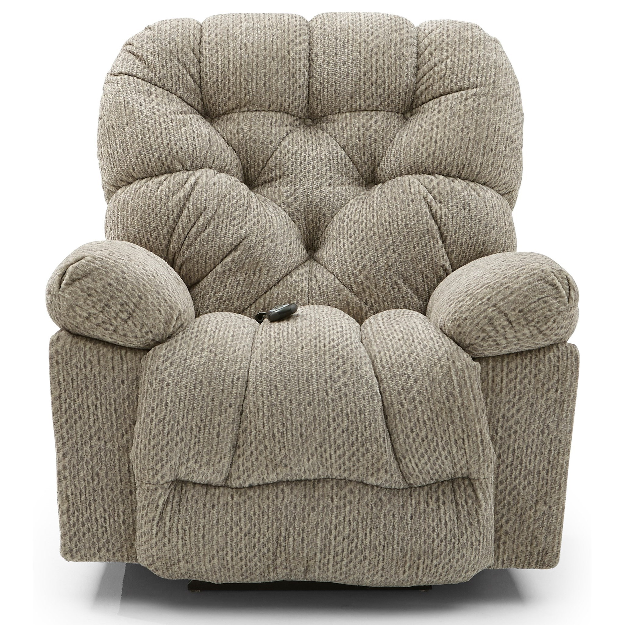 Bolt Power Space Saver Recliner by Best Home Furnishings at Zak's Home