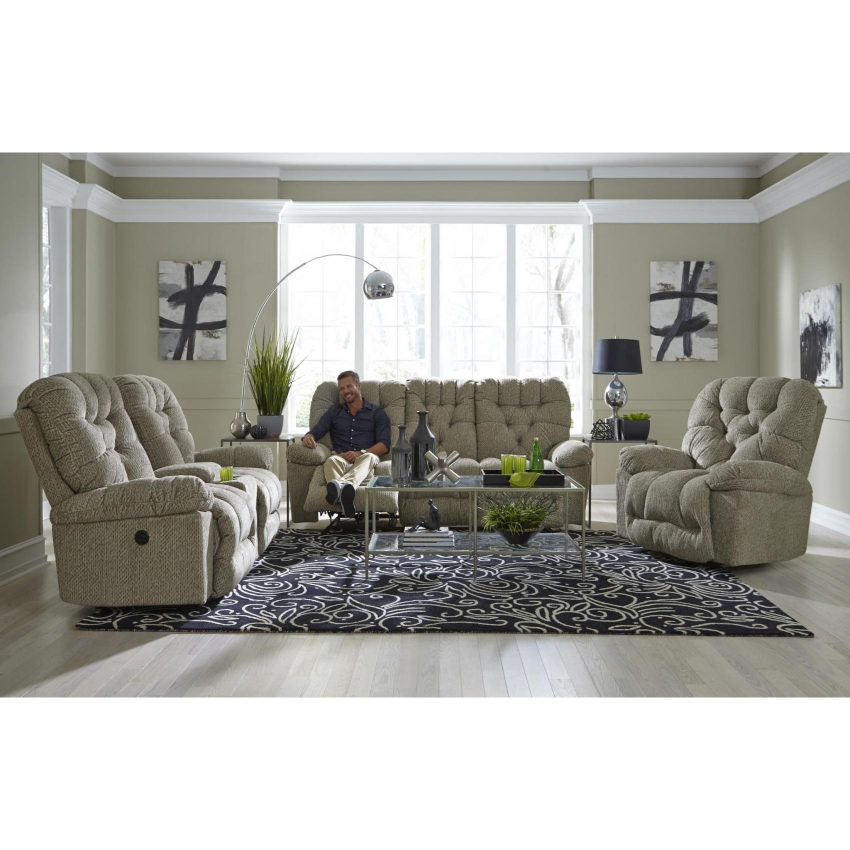 Bolt Reclining Living Room Group by Best Home Furnishings at Zak's Home