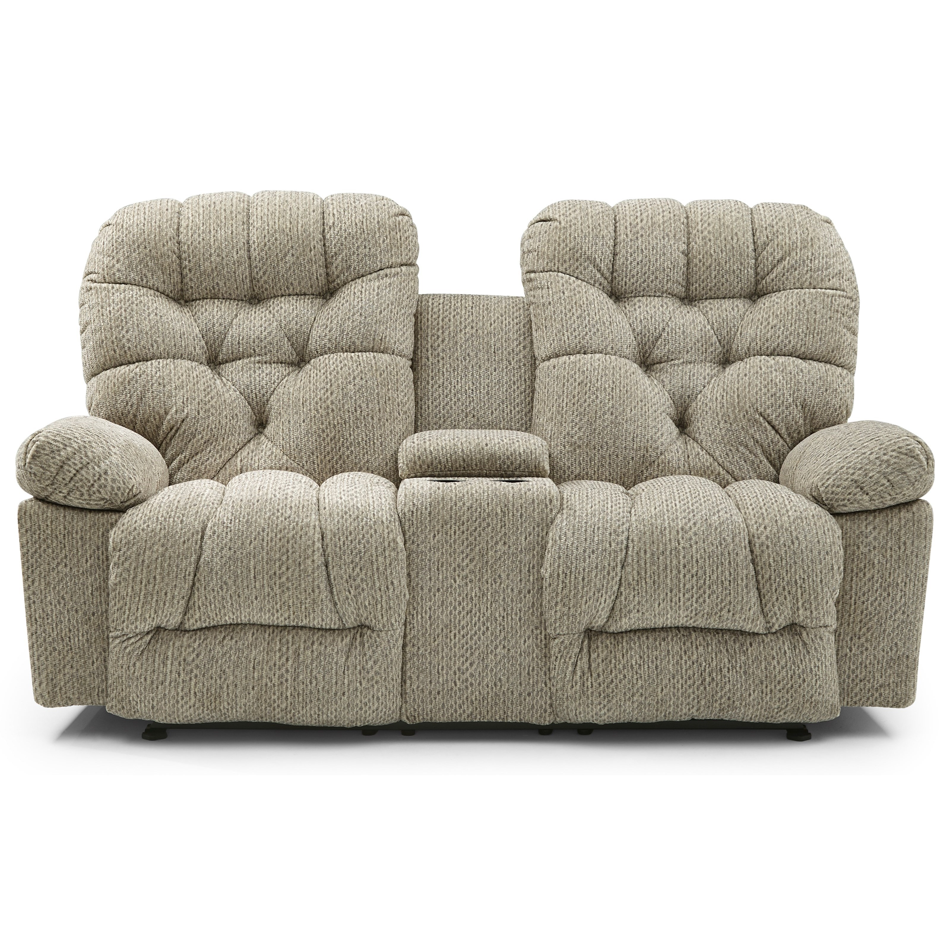 Bolt Rocker Console Loveseat by Best Home Furnishings at Zak's Home