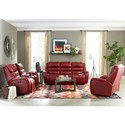 Best Home Furnishings Bosley Reclining Living Room Group - Item Number: S725 Living Room Group 3
