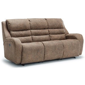 Power Tilt Headrest Space Saver Sofa Chaise