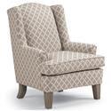 Best Home Furnishings Bridget Wing Chair - Item Number: 0170-CROWLEY