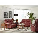 Best Home Furnishings Brinley 2 Power Reclining Living Room Group - Item Number: 700 Living Room Group 4