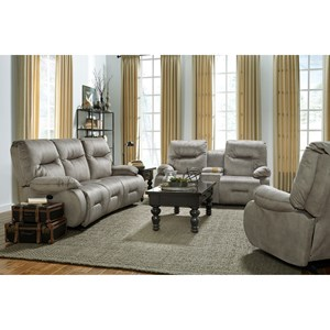 Best Home Furnishings Brinley 2 Power Recline Living Room Group w/ Pwr Head