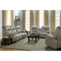 Best Home Furnishings Brinley 2 Power Recline Living Room Group w/ Pwr Head - Item Number: 700 Living Room Group 7