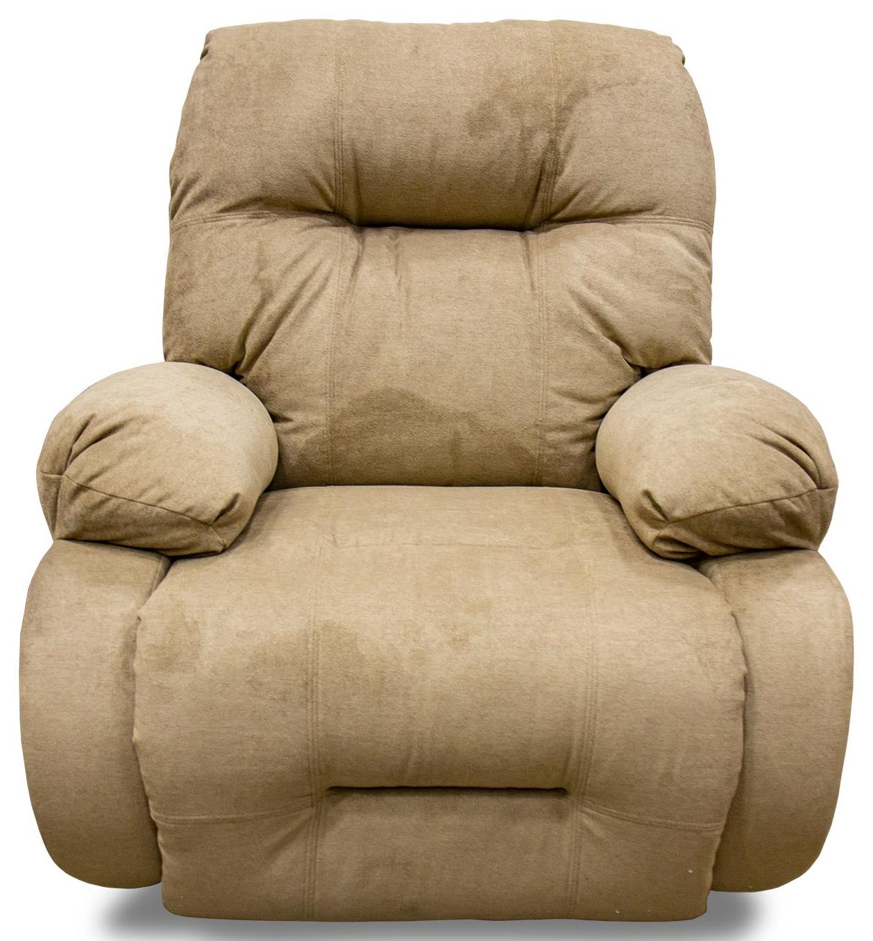 Best Home Furnishings Brinley 2 Brinley2 Khaki Rocker Recliner in Opticlean  - Item Number: 8MW8720229