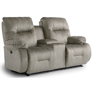 Power Space Saver Console Loveseat