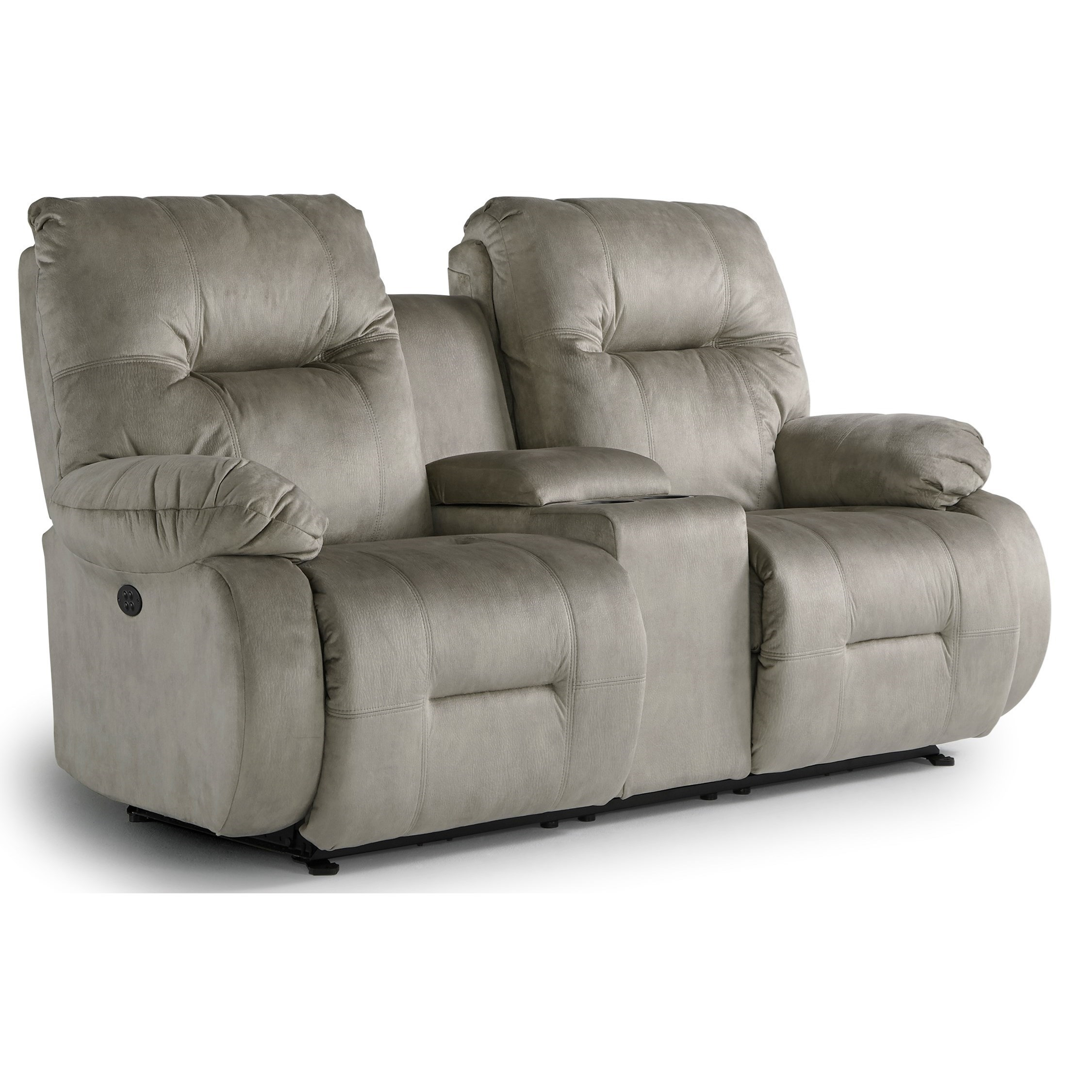 Best Home Furnishings Brinley 2 L700rq7 Power Rocking Reclining Console Loveseat Hudson 39 S