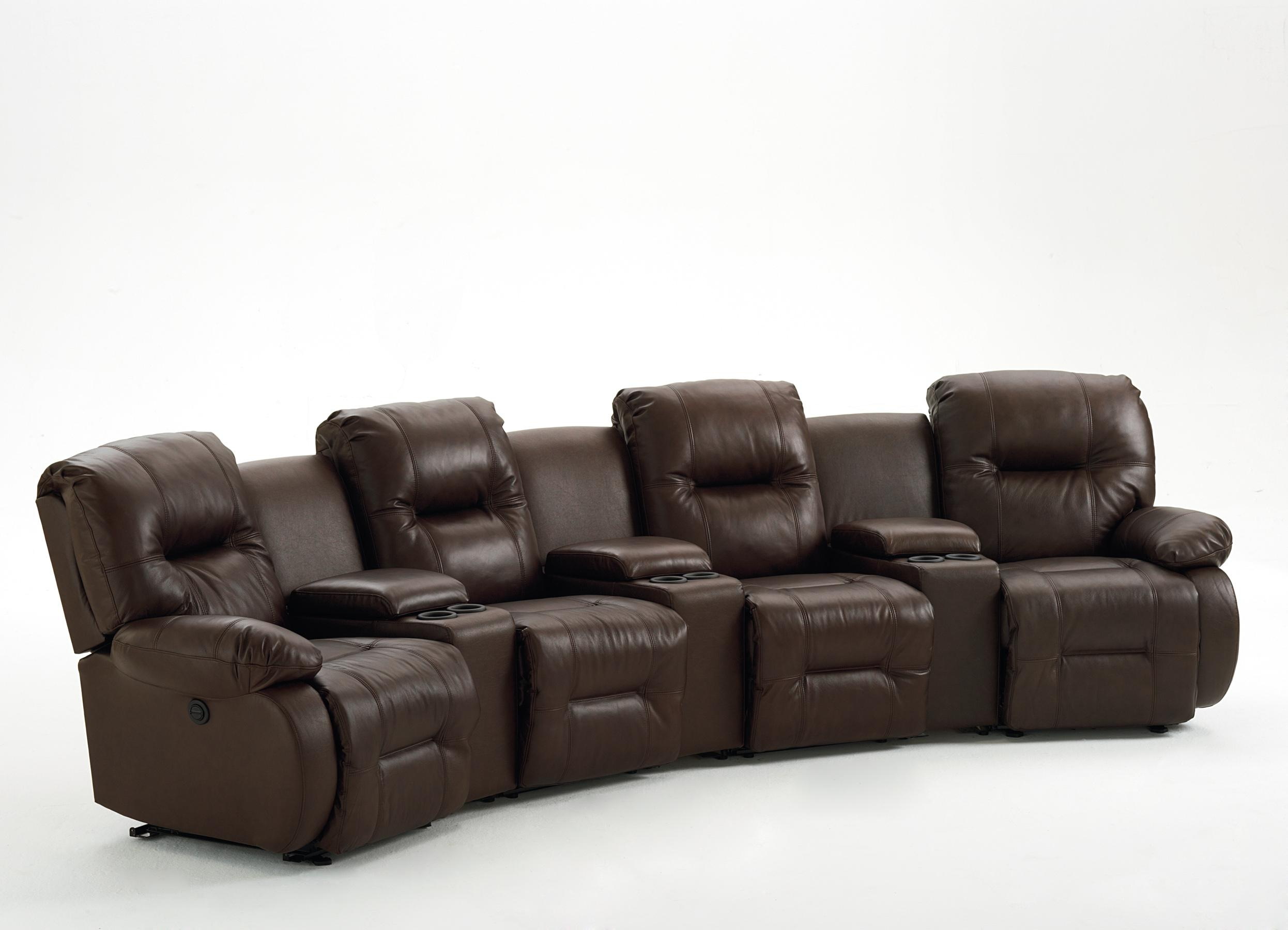 Best Home Furnishings Brinley 2 Seven Piece Reclining Home