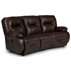 Best Home Furnishings Brinley 2 Brinley Power Reclining Sofa w/ Pwr Headrest