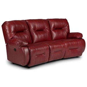 Best Home Furnishings Brinley 2 Power Reclining Sofa w/ Pwr Headrest