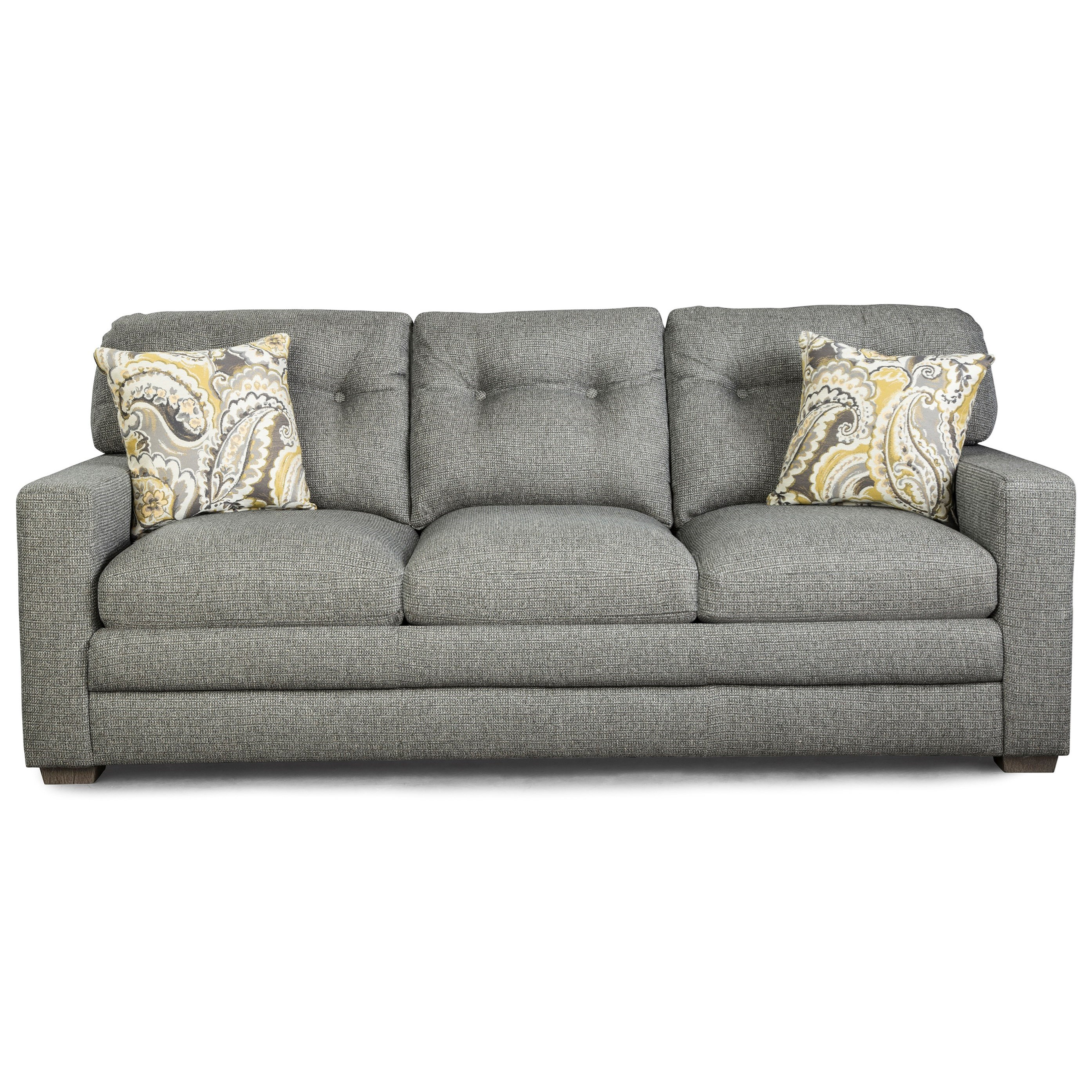 Cabrillo Contemporary Tufted Sofa by Best Home Furnishings at Rooms and Rest