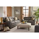 Best Home Furnishings Cabrillo Contemporary Tufted Sofa