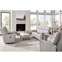 Best Home Furnishings Caitlin Power Reclining Living Room Group - Item Number: S420 Living Room Group 4