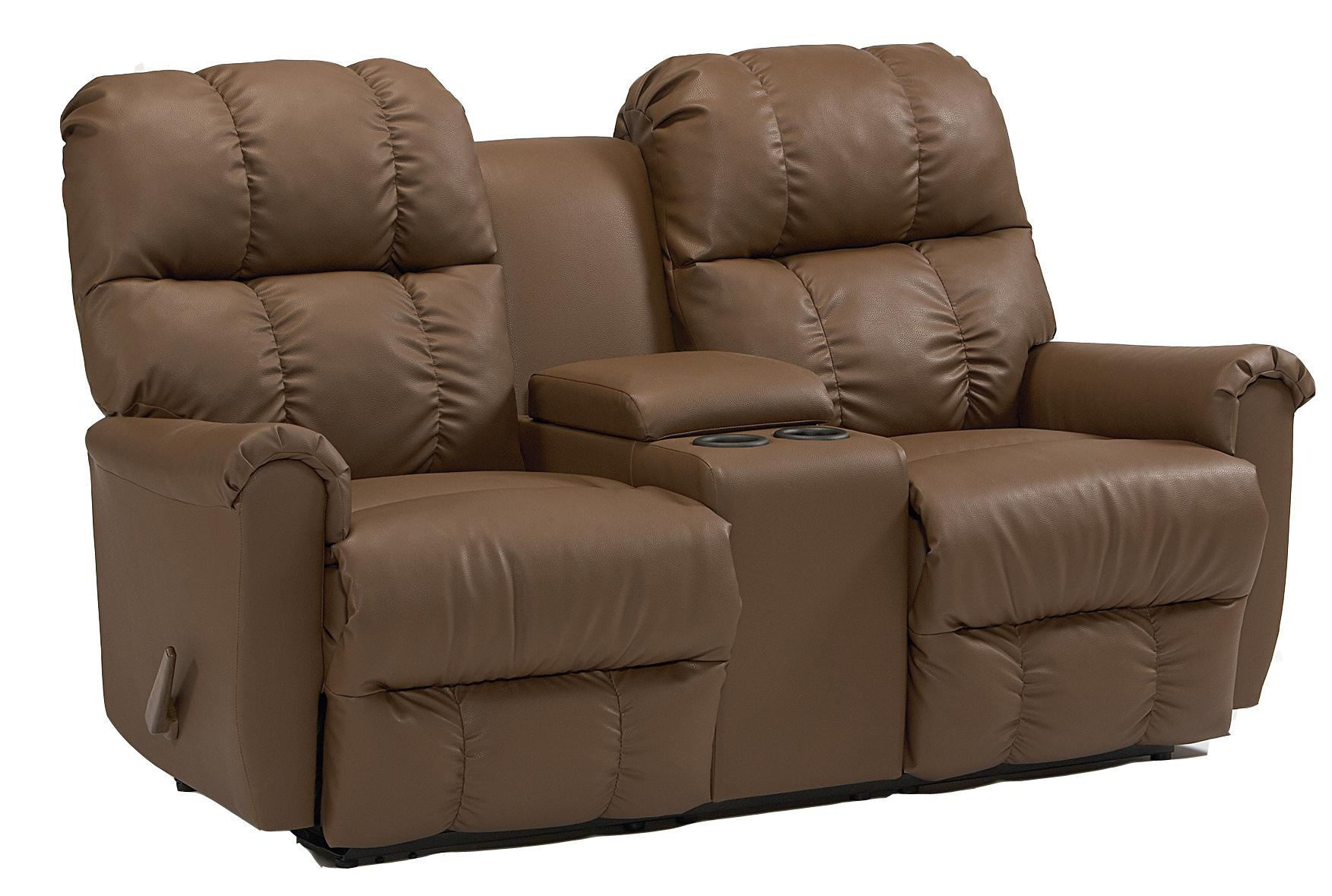 Camryn BHF Casual Power Rocking Reclining Loveseat with ...