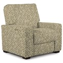 Best Home Furnishings Celena Power Reclining Space Saver Chair - Item Number: 270806188-26089