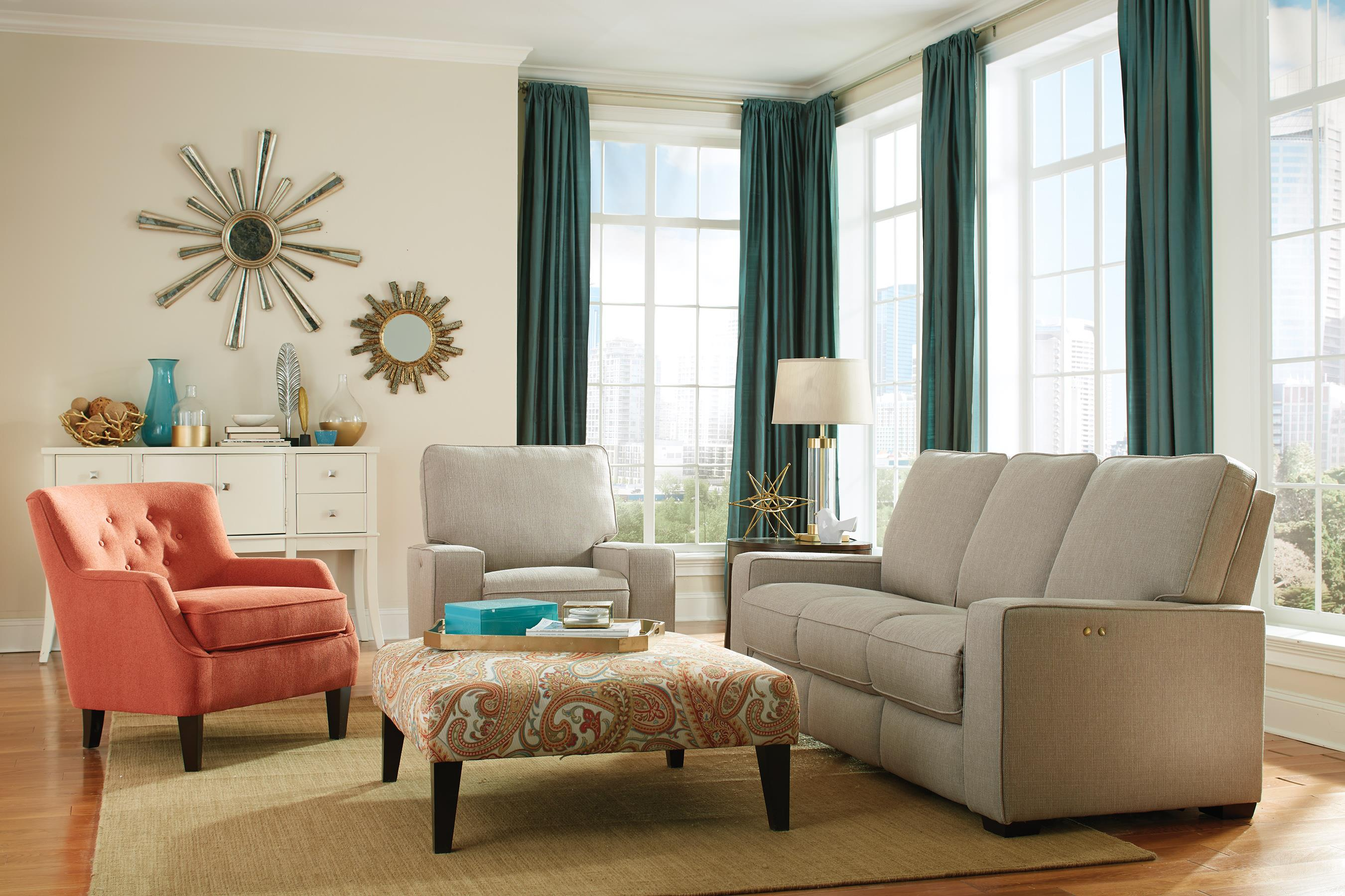 Best Home Furnishings Celena Contemporary Power Reclining