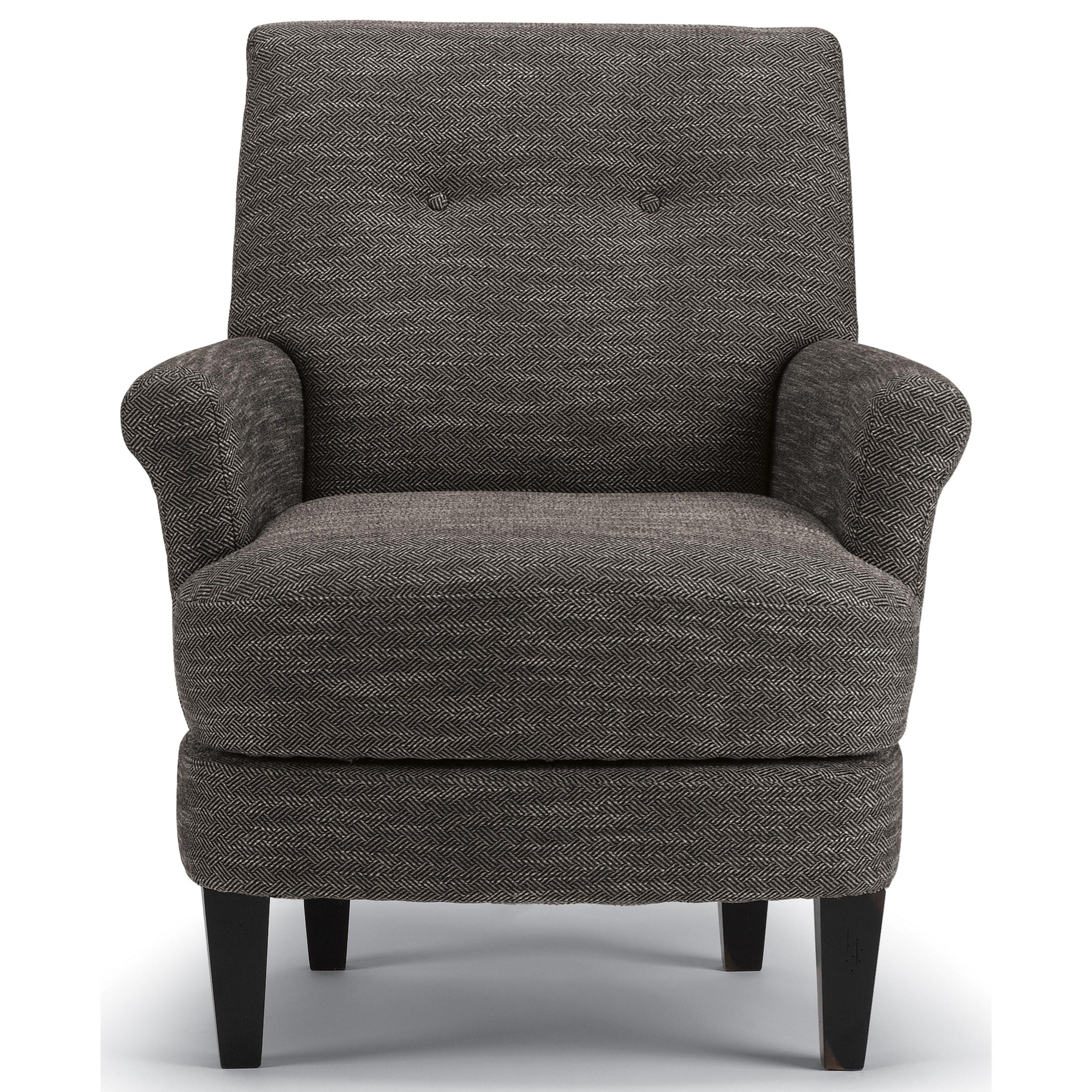 Vendor 411 Cerise 3038 Transitional Swivel Barrel Chair