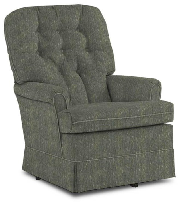 Best Home Furnishings Chairs   SGR Swivel Rocker Chair   Item Number:  1009 20102