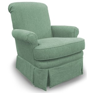 Morris Home Furnishings Chairs - Swivel Glide Nava Glide Chair