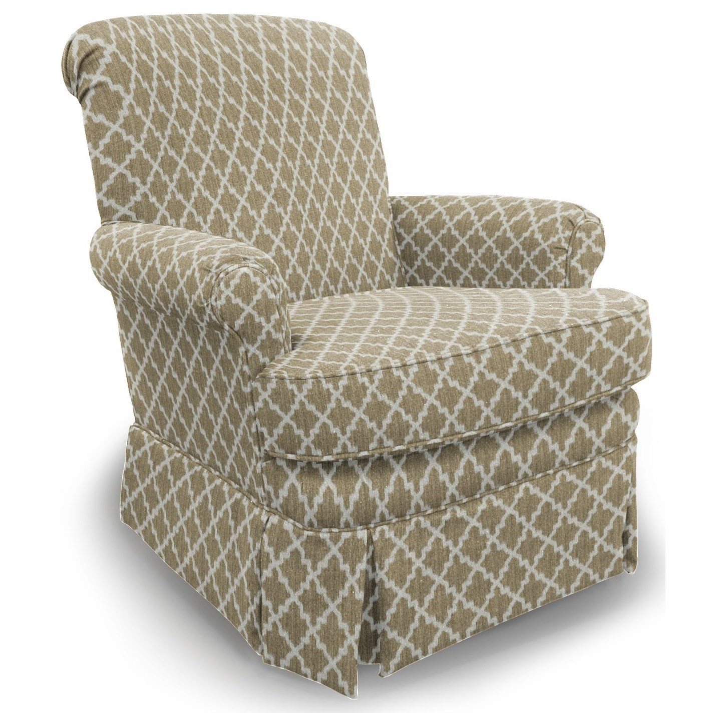 Best Home Furnishings Chairs - Swivel Glide Nava Glide Chair - Item Number: 1216-28843