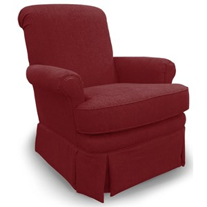 Best Home Furnishings Swivel Glide Chairs Nava Swivel Glider Chair