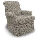 Best Home Furnishings Swivel Glide Chairs Nava Swivel Glider Chair - Item Number: 1217-26083