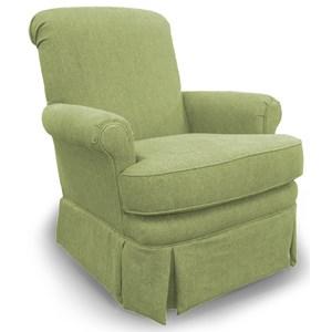 Best Home Furnishings Swivel Glide Chairs Nava Swivel Glider Chair
