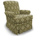 Best Home Furnishings Swivel Glide Chairs Nava Swivel Glider Chair - Item Number: 1217-28653