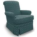 Best Home Furnishings Swivel Glide Chairs Nava Swivel Glider Chair - Item Number: 1217-29092