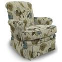 Best Home Furnishings Swivel Glide Chairs Nava Swivel Glider Chair - Item Number: 1217-29139