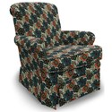 Best Home Furnishings Chairs - Swivel Glide Nava Swivel Glider Chair - Item Number: 1217-33212