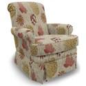 Best Home Furnishings Swivel Glide Chairs Nava Swivel Glider Chair - Item Number: 1217-34618
