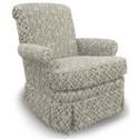 Best Home Furnishings Swivel Glide Chairs Nava Swivel Rocker - Item Number: 1219-26082