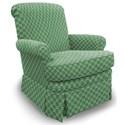 Best Home Furnishings Swivel Glide Chairs Nava Swivel Rocker - Item Number: 1219-27062