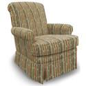 Best Home Furnishings Swivel Glide Chairs Nava Swivel Rocker - Item Number: 1219-27624