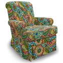 Best Home Furnishings Swivel Glide Chairs Nava Swivel Rocker - Item Number: 1219-28118