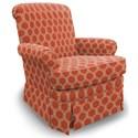 Best Home Furnishings Swivel Glide Chairs Nava Swivel Rocker - Item Number: 1219-28424
