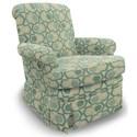 Best Home Furnishings Swivel Glide Chairs Nava Swivel Rocker - Item Number: 1219-30562