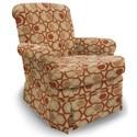 Best Home Furnishings Swivel Glide Chairs Nava Swivel Rocker - Item Number: 1219-30564