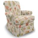 Best Home Furnishings Swivel Glide Chairs Nava Swivel Rocker - Item Number: 1219-33347