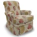 Best Home Furnishings Swivel Glide Chairs Nava Swivel Rocker - Item Number: 1219-34618