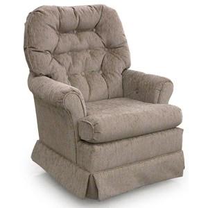 Morris Home Furnishings Chairs - Swivel Glide Marla Swivel Rocker Chair