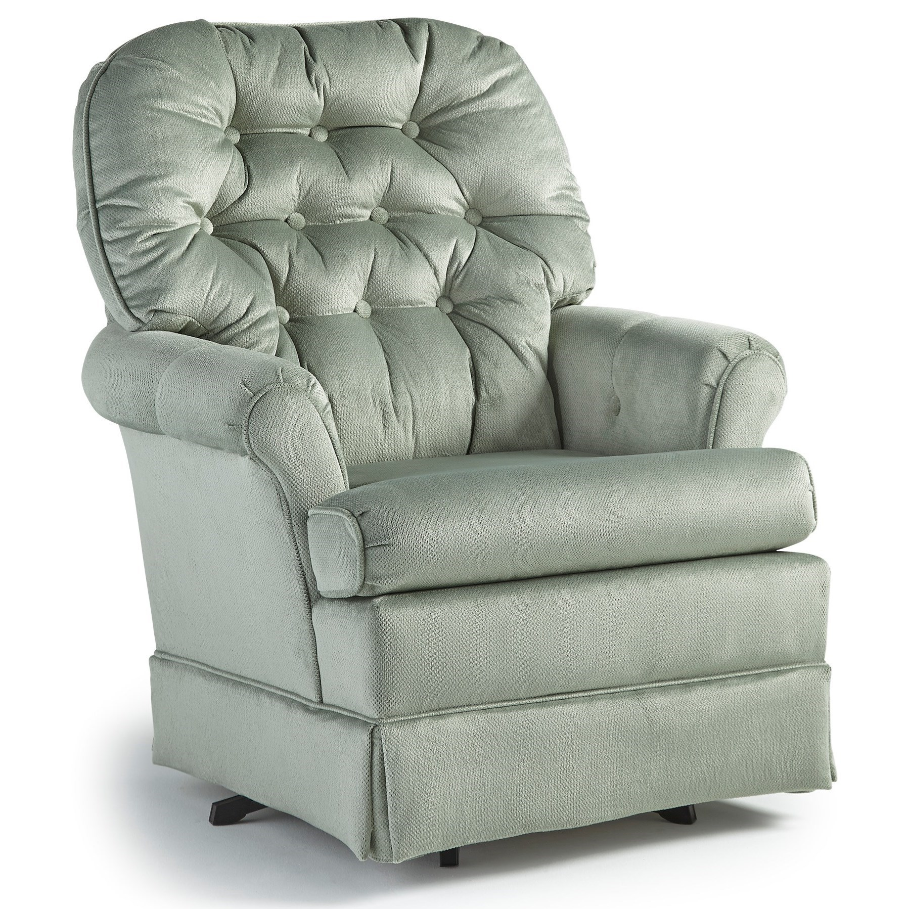 Best Home Furnishings Chairs - Swivel Glide Marla Swivel Rocker Chair - Item Number: 1559