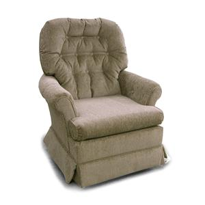 Morris Home Furnishings Chairs - Swivel Glide Marla Swivel Glider Chair